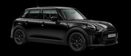 En midnight black metallic Cooper 5-doors