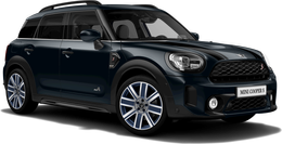 En enigmatic black metallic Cooper S ALL4 Countryman