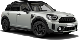 En white silver metallic Cooper S ALL4 Countryman