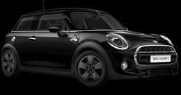 En midnight black metallic Cooper S