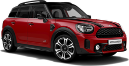 chili red Cooper S ALL4 Countryman