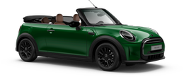 En british racing green iv Cooper Cabrio