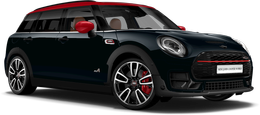 En enigmatic black metallic John Cooper Works ALL4 Clubman