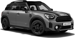 En moonwalk grey metallic Cooper ALL4 Countryman