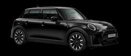 En midnight black metallic Cooper S 5-doors