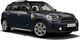 thunder grey metallic Cooper SE ALL4 Countryman