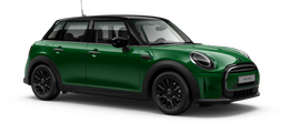 En british racing green iv Cooper 5-doors