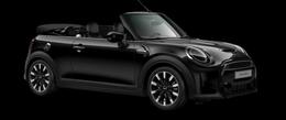 En midnight black metallic Cooper S Cabrio