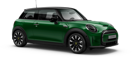 En british racing green iv Cooper SE