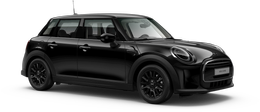 En midnight black metallic Cooper 5-doors