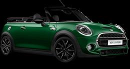 En british racing green iv Cooper S Cabrio