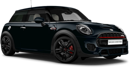 En enigmatic black metallic John Cooper Works