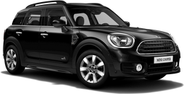 En midnight black metallic Cooper ALL4 Countryman
