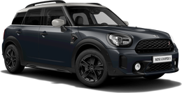 En thunder grey metallic Cooper S ALL4 Countryman