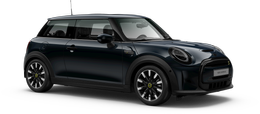 En enigmatic black metallic Cooper SE