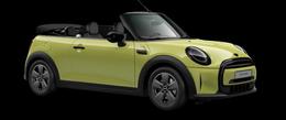 En zesty yellow Cooper Cabrio