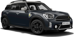 En thunder grey metallic Cooper SE ALL4 Countryman