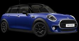 En starlight blue Cooper 5-dörrar
