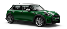 En british racing green iv Cooper S 5-doors