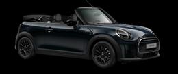 En enigmatic black metallic Cooper Cabrio