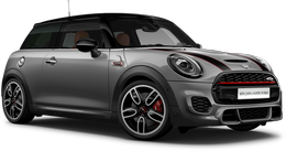 En moonwalk grey metallic John Cooper Works