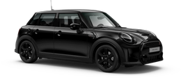 En midnight black metallic Cooper S 5-doors