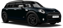 En enigmatic black metallic Cooper S ALL4 Clubman