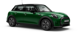 En british racing green iv Cooper 5-doors
