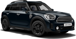 enigmatic black metallic Cooper Countryman