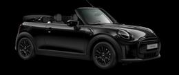 En midnight black metallic Cooper Cabrio